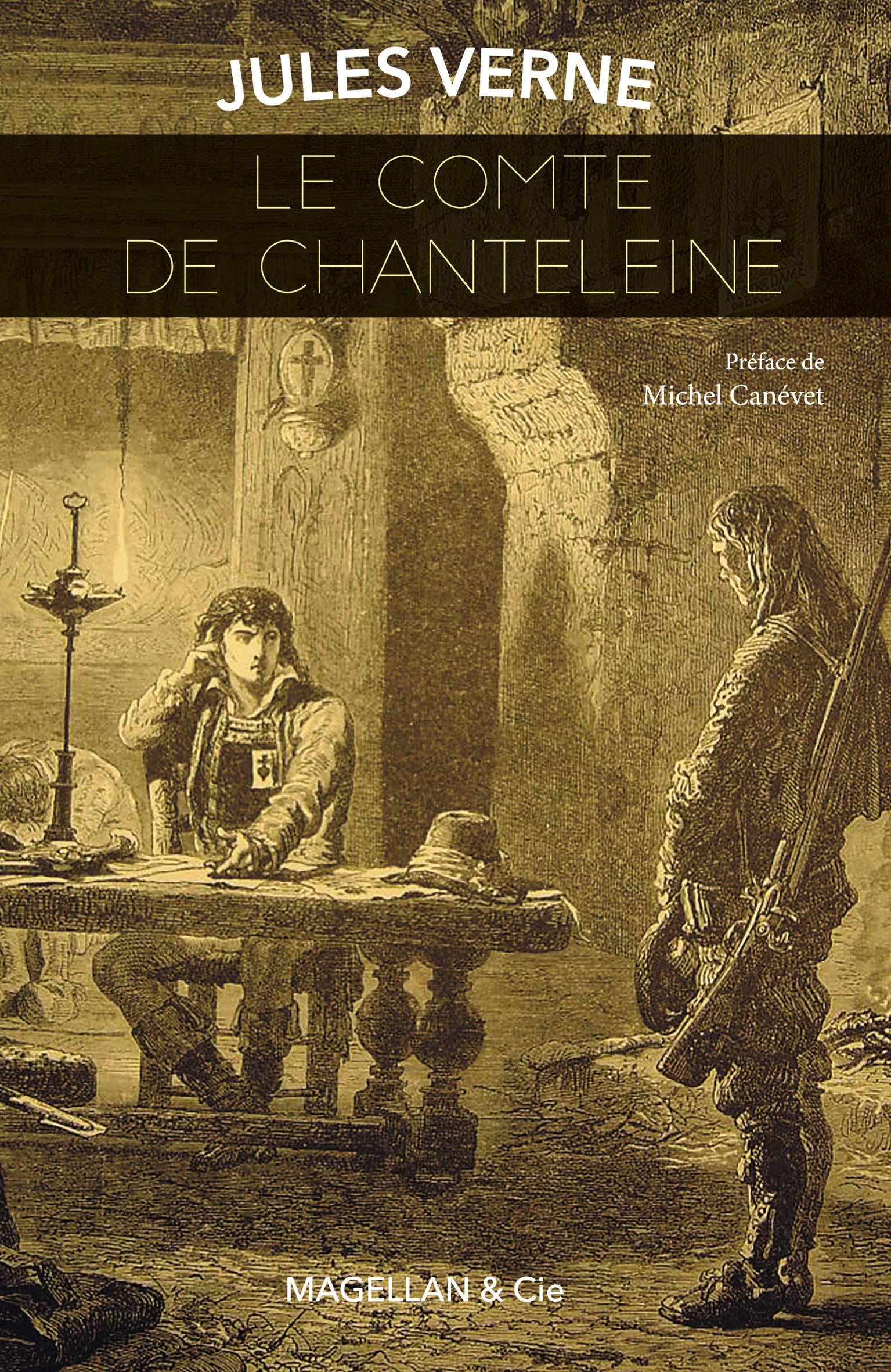 Amazon.fr - Le comte de Chanteleine - Verne, Jules, Canévet ...