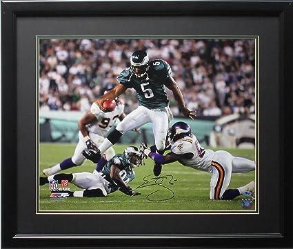 4656b8b16a6 Autographed Donovan McNabb Photo - 16x20 Run framed - Autographed ...