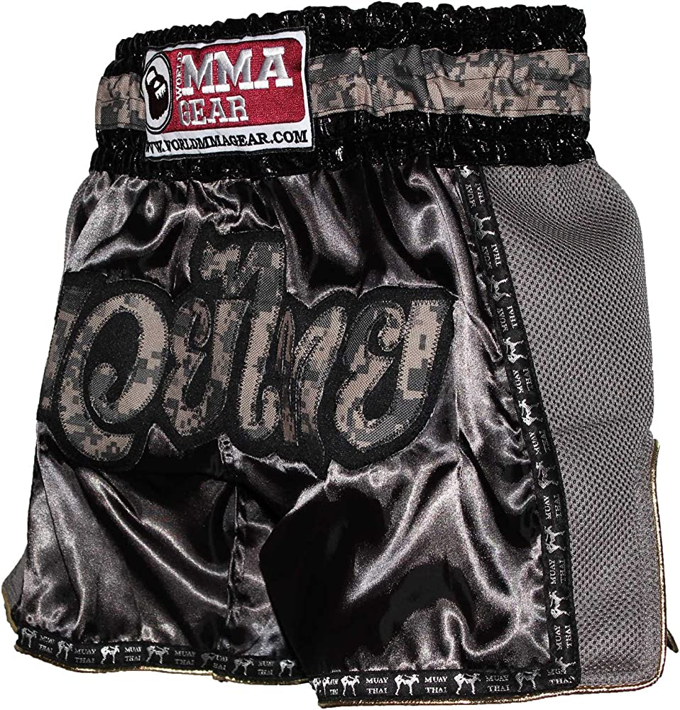 MORGAN Muay Thai Pink Diabla Camo Boxing MMA Pants Shorts