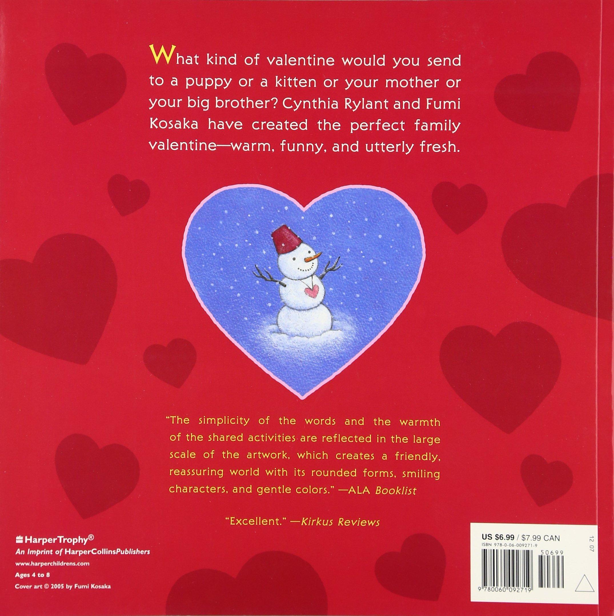If Youll Be My Valentine Cynthia Rylant Fumi Kosaka