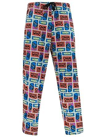 Amazon.com: Doctor Who Mens' Dr Who Pajama Lounge Pant: Clothing