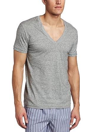 449cc8141 C-IN2 Men's Core Basic Deep Vee Neck Tee at Amazon Men's Clothing ...