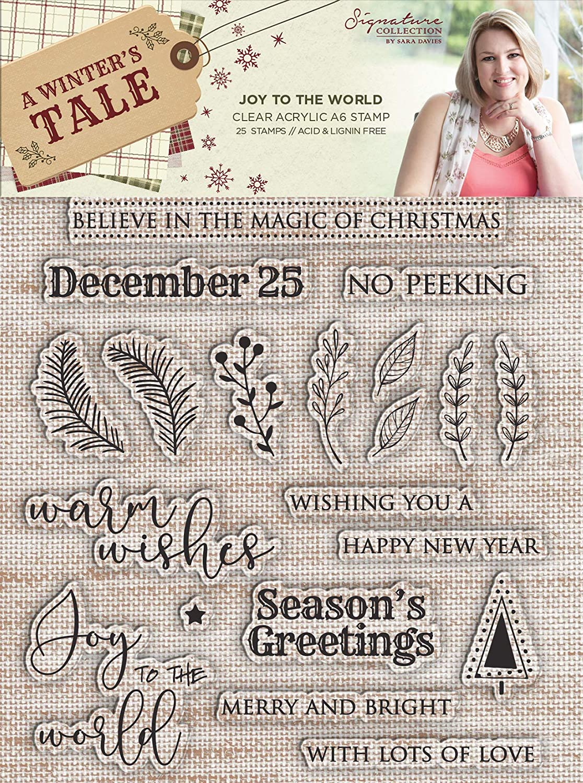 Sara Signature A Winters Tale-12 x 12 Paper Pad, Multi, 12 x 12 12 x 12 Crafter' s Companion S-AWT-PAD12