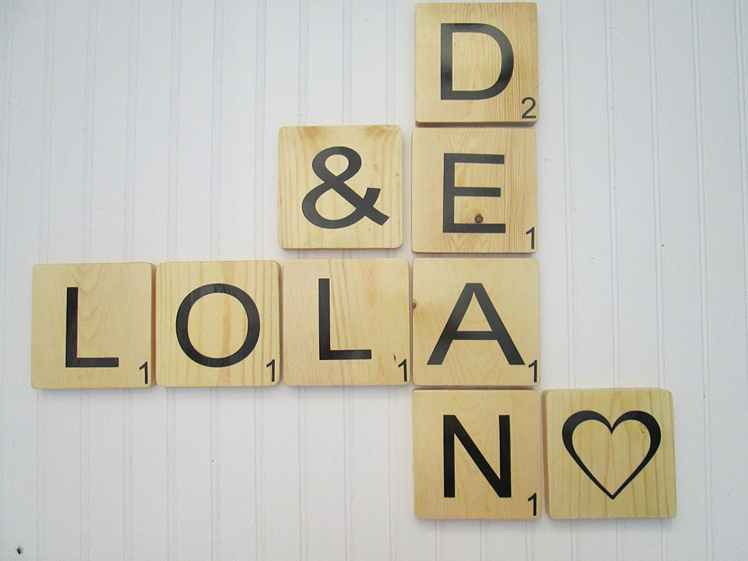 Pretty Large Scrabble Letters Wall Decor Ideas - The Wall Art ...