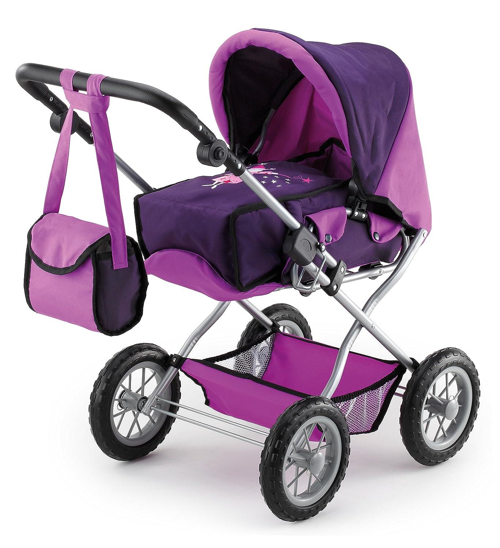 Bayer Design 15012 Combi Grande Doll Pram, Purple
