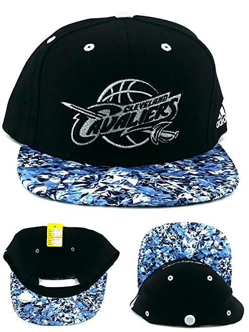 adidas Cleveland Cavaliers Nueva Diamantes Negro Azul Plata era ...