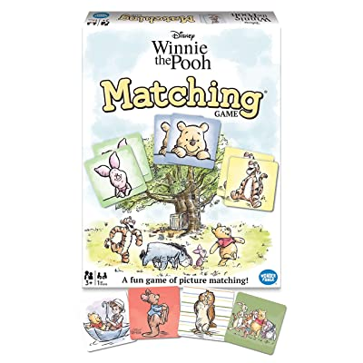 Wonder Forge Disney Winnie The Pooh Matching Game for Boys & Girls Age 3 to 5 - A Fun & Fast Disney Memory Game: Toys & Games