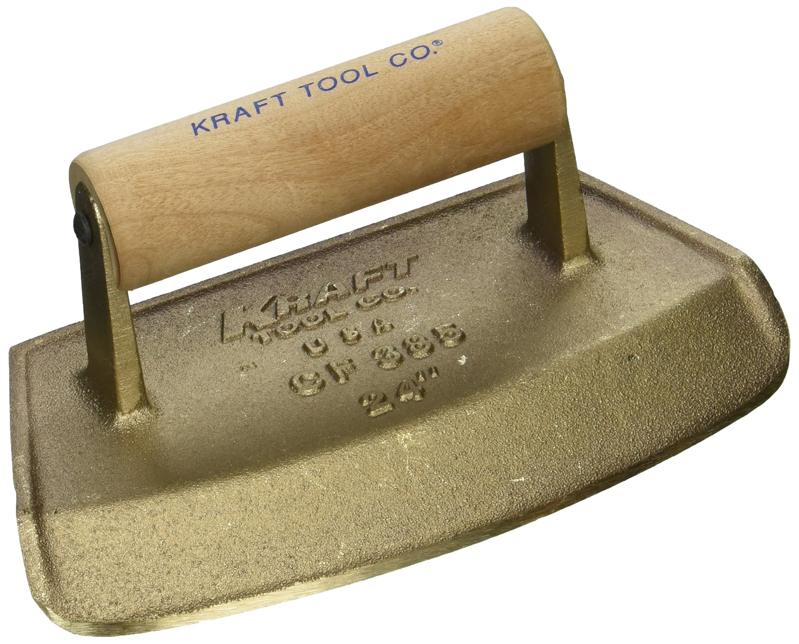 Kraft Tool CF385 Diameter Chamfer Tube Bronze Edger with Wood Handle, 24-Inch by Kraft Tool