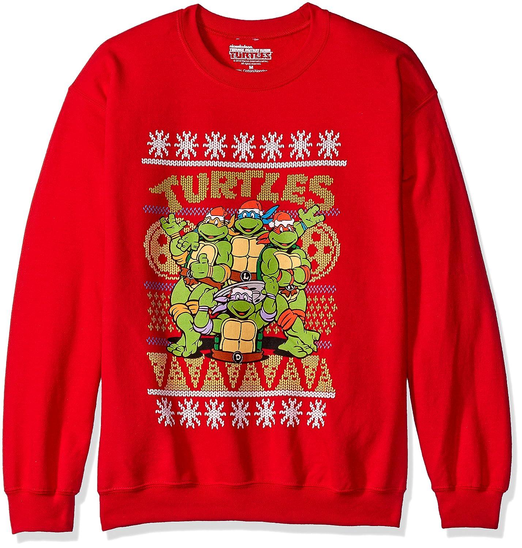 Nickelodeon Men\'s Teenage Mutant Ninja Turtles Ugly Christmas ...