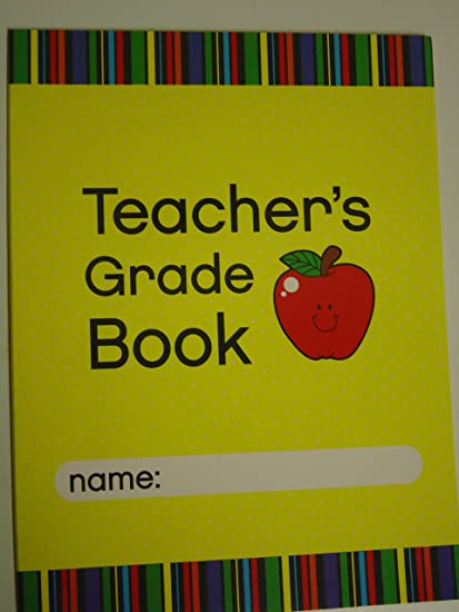 amazon com teacher s grade book office products