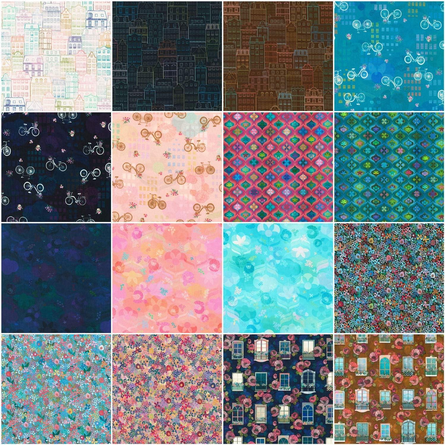 Wishwell Happy Place Ten Square 42 10-inch Squares Layer Cake Robert Kaufman Fabrics TEN-792-42