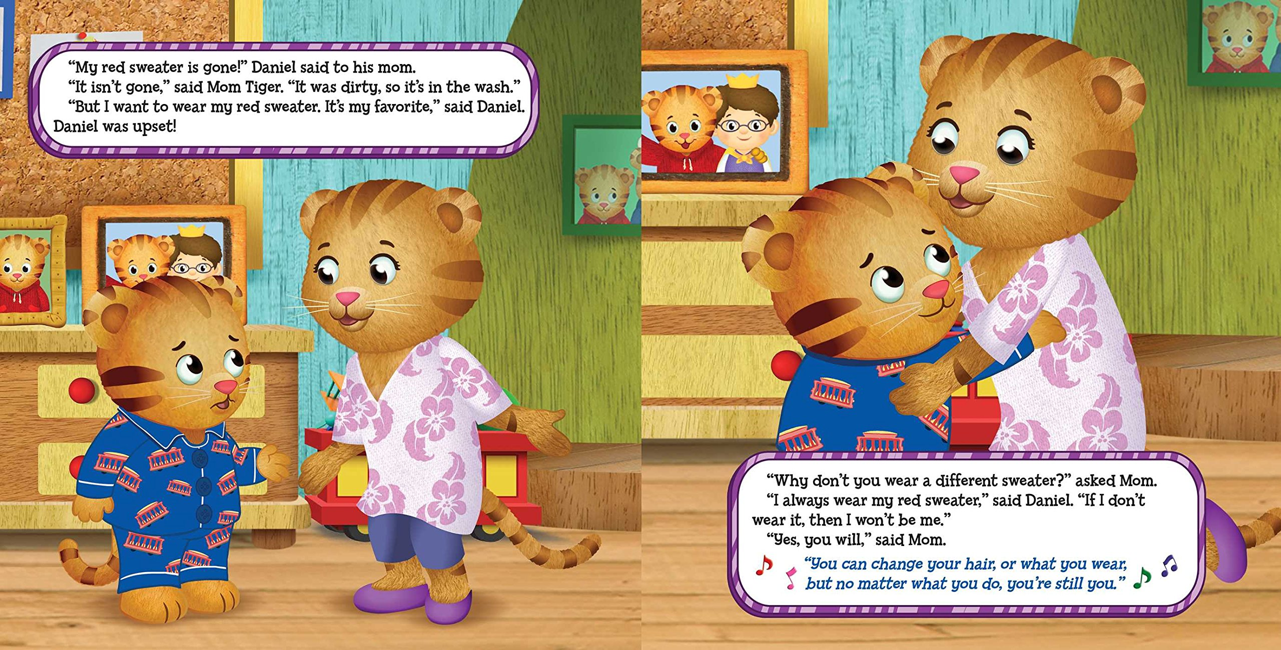 No Red Sweater for Daniel (Daniel Tiger's Neighborhood): Becky ...