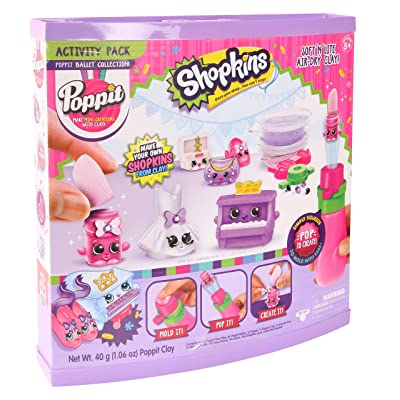 Poppit S1 Shopkins Ballet Collection: Toys & Games