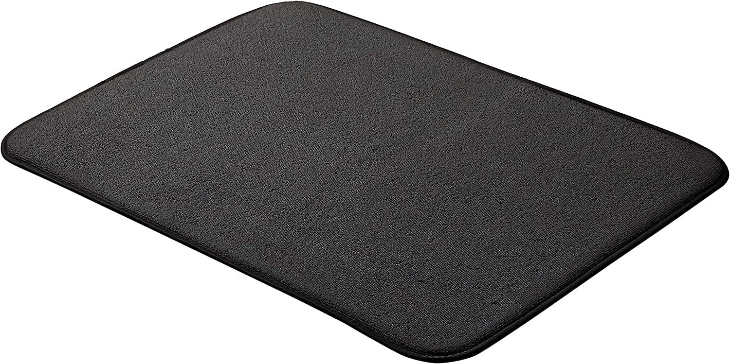 "AmazonBasics Drying Mat - 18x24""- Black, 3-Pack"