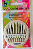 Colour Eye Tapestry Needles in compact case