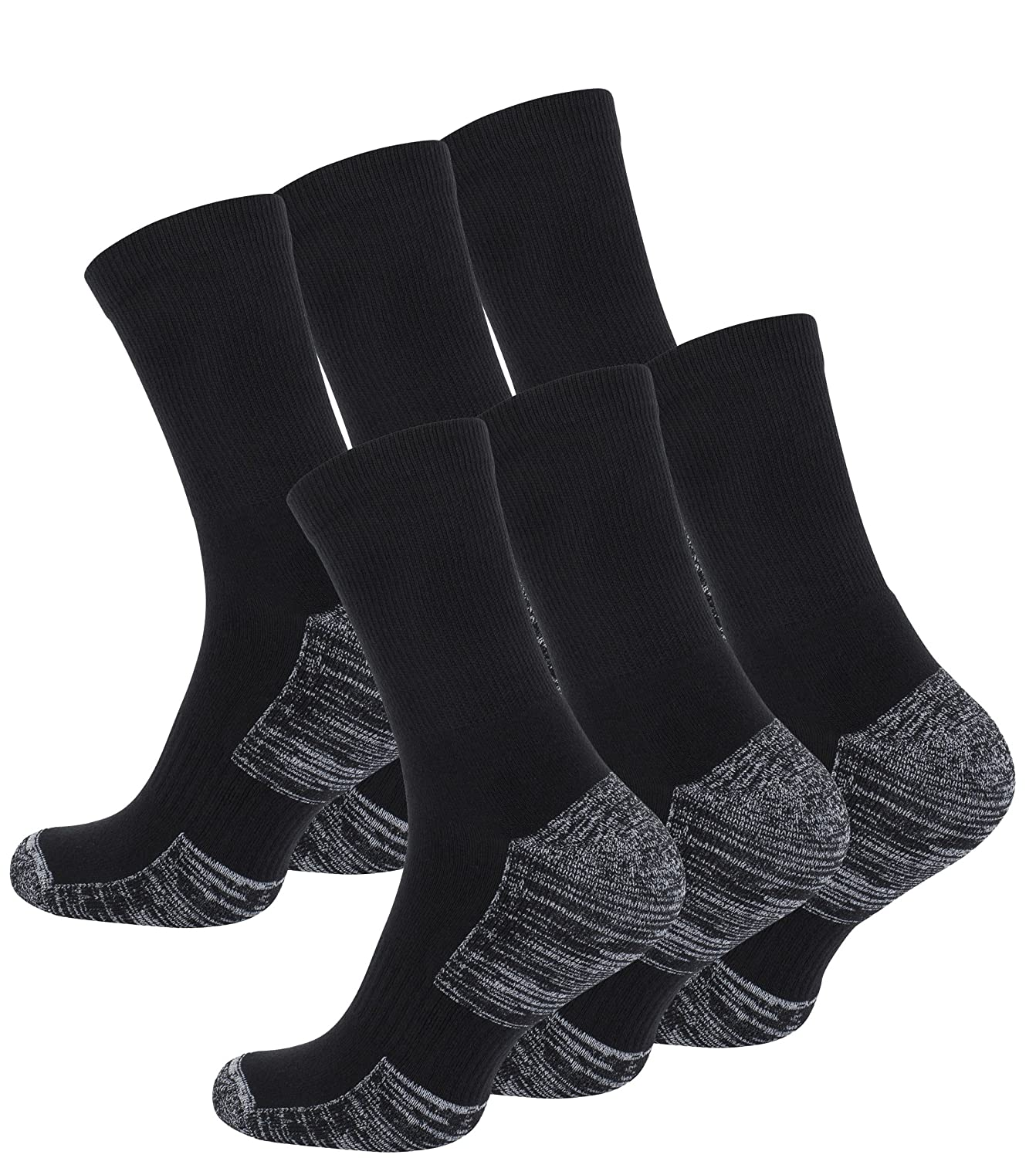 6 Pairs of Hiking & Trekking Socks, Outdoor Socks, with Terry Sole, UNISEX 2103