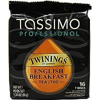 Tassimo Professional Twinings English Breakfast Tea, 1.34 Ounce