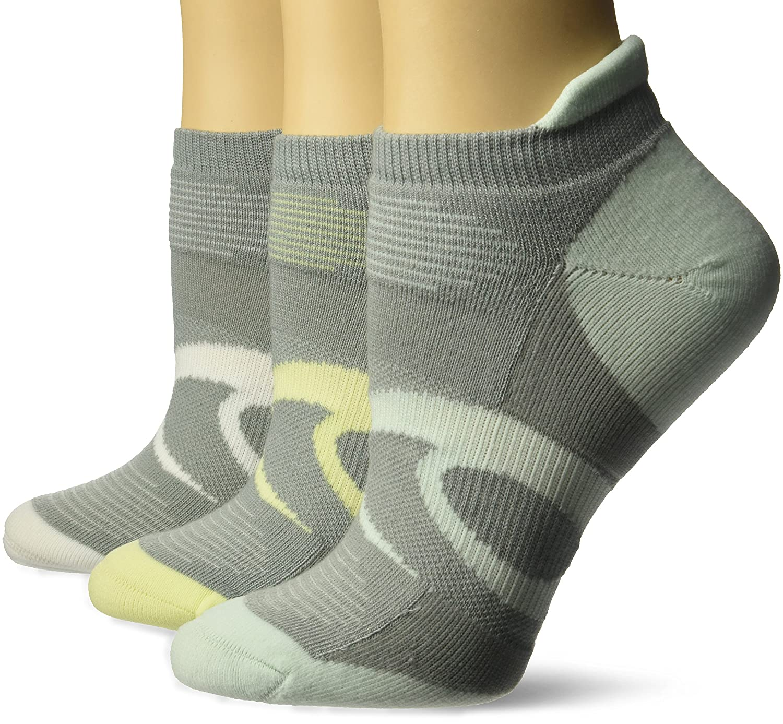 ASICS Women's Intensity Single Tab Running Socks (3 Pack) ASICS Sports Apparel ZK2451W-P
