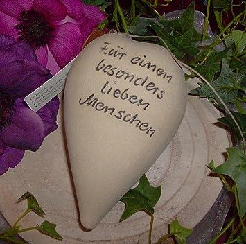 Keramik Herz Mit Spruch Für Einen Besonders Lieben Menschen