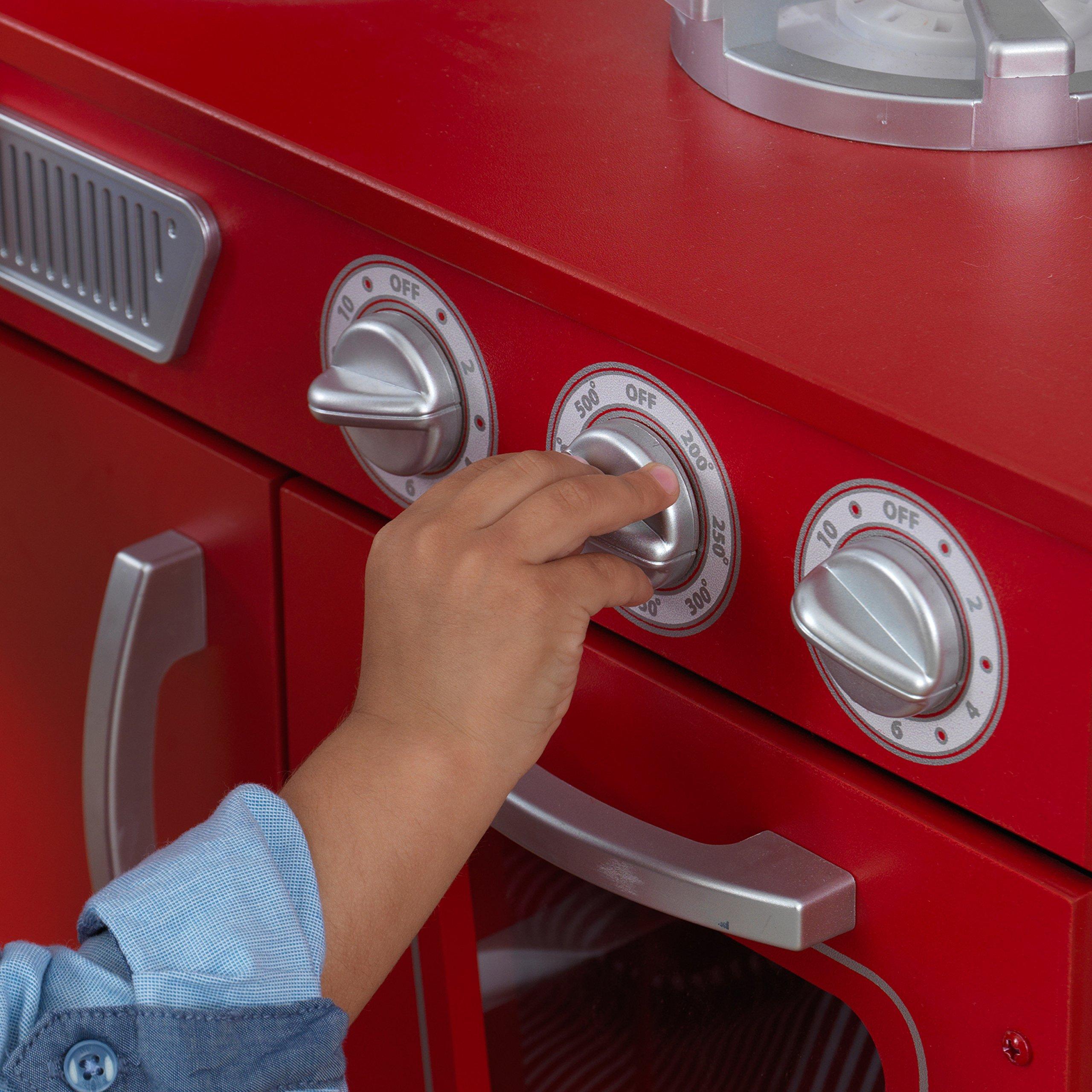 KidKraft Vintage Play Kitchen - Red by KidKraft (Image #8)