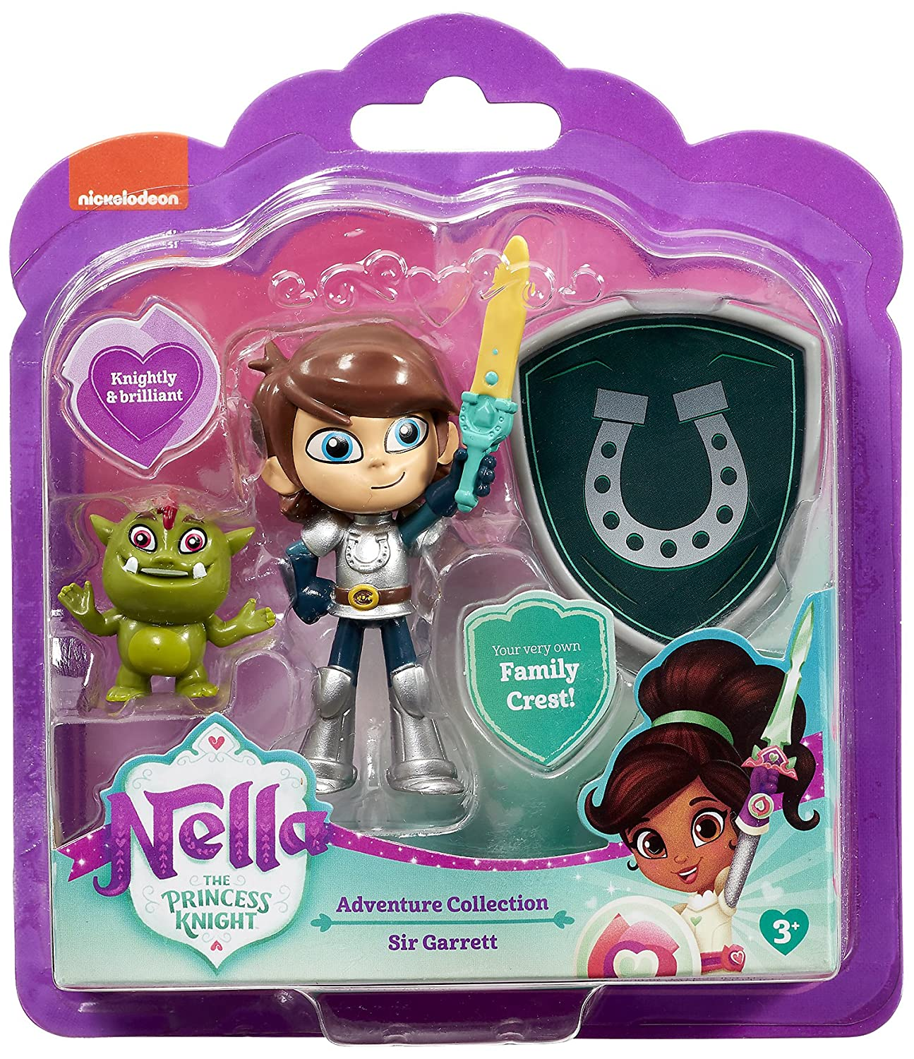 Nella the Princess Knight 11274 Garrett Adventure Collection, Multi-Colour Vivid Toy Group