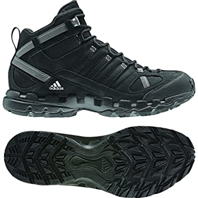 ce3509770af9 adidas outdoor AX1 Mid Leather Hiking Boot - Men s Black Black Shift Grey -