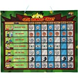 Cadily Magnetic Chore Reward Chart for Kids - Responsibility Chart, Allowance Game & Chores Board - Includes 144 Money Magnets and 15 Chore Magnets