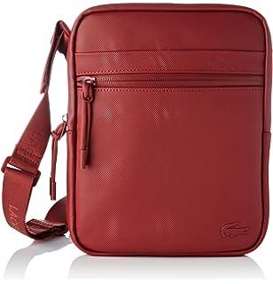 0006482c3 Lacoste NH2453PO - Bolso bandolera Hombre, Rojo (Rojo (BIKING RED ...