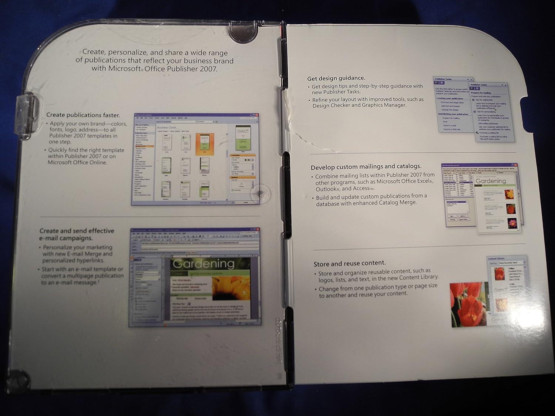 microsoft office publisher 2007 academic edition amazoncouk software