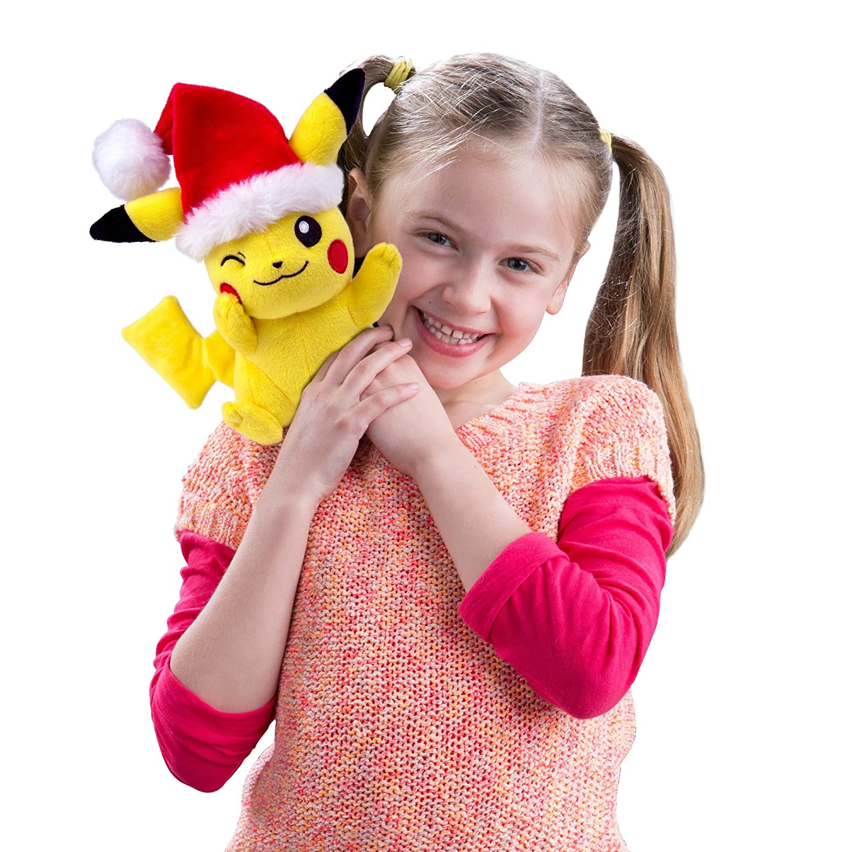 Alta qualit/à Pok/émon Tomy Peluche di Pikachu Peluche per Giocare e da Collezionare dai 3 Anni