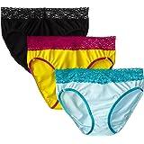 ExOfficio Women's Give-N-Go Lacy Bikini 3 Pack/PE Bag