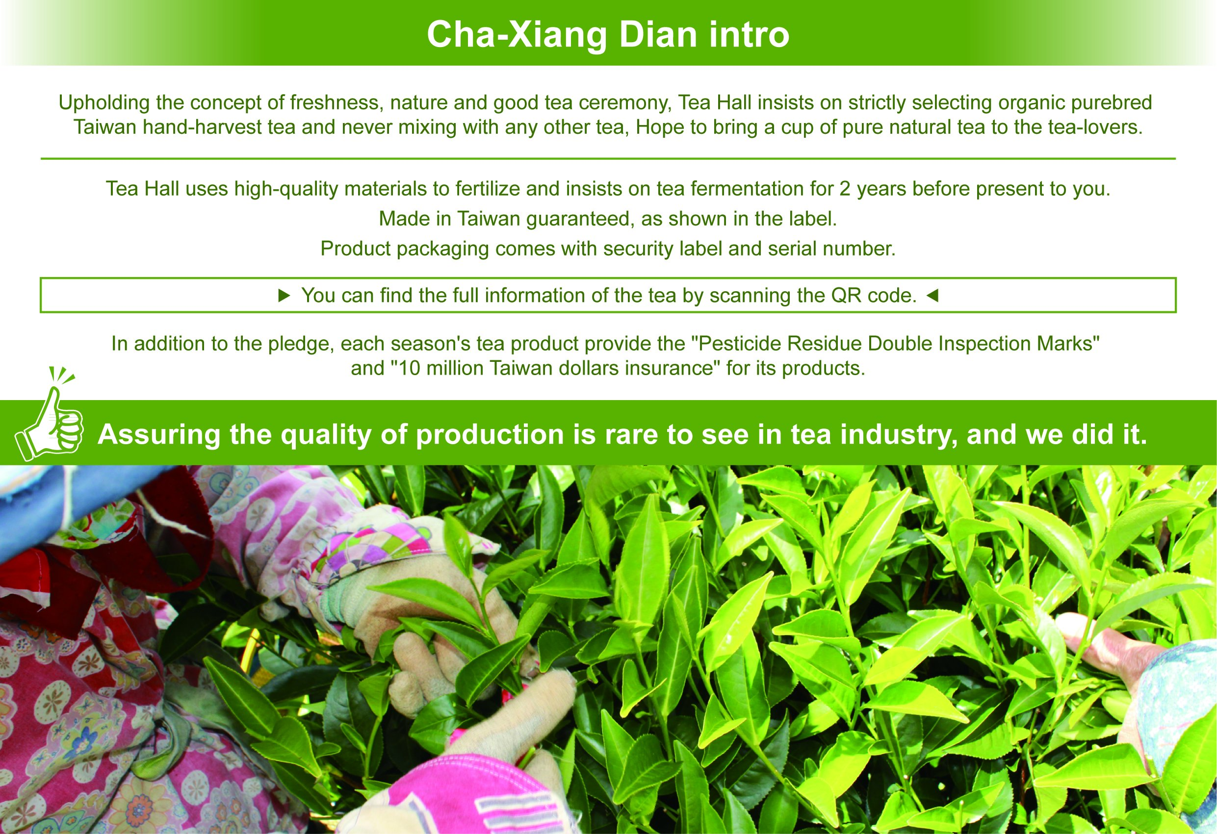 DING IN Lalashan Oolong Tea Pine Box 75g/box by Ding In ltd. (Image #4)