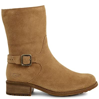 ugg ankle boots leather