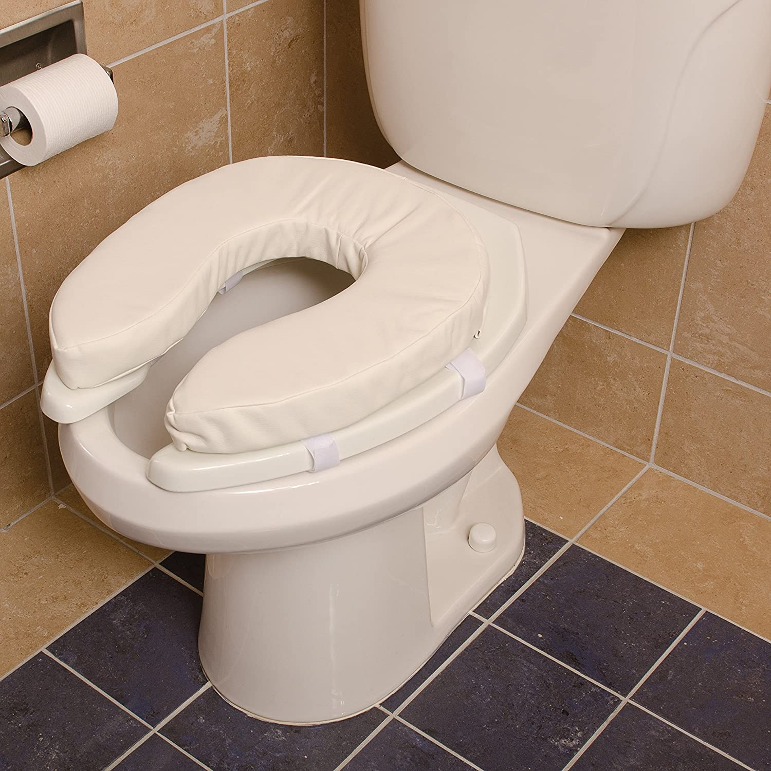 Amazon.com: Duro-Med Toilet Seat Cushion, Cushioned Toilet Seat ...