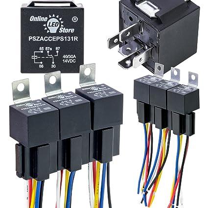 Amazoncom ONLINE LED STORE 6 Pack 12V DC 4030 Amp 5Pin SPDT