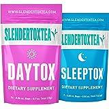 Slendertoxtea - Supplément 14 jours diététique | thé minceur, bruleur de graisse, perte de poids
