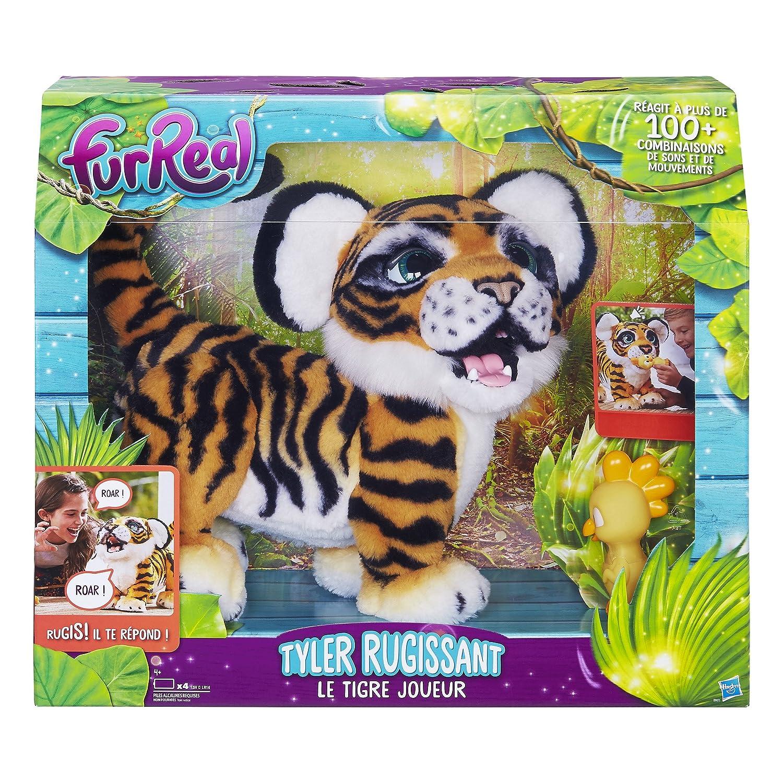 /el Tigre Jugador/ /Tyler/ /Peluche Interactive FurReal Friends/