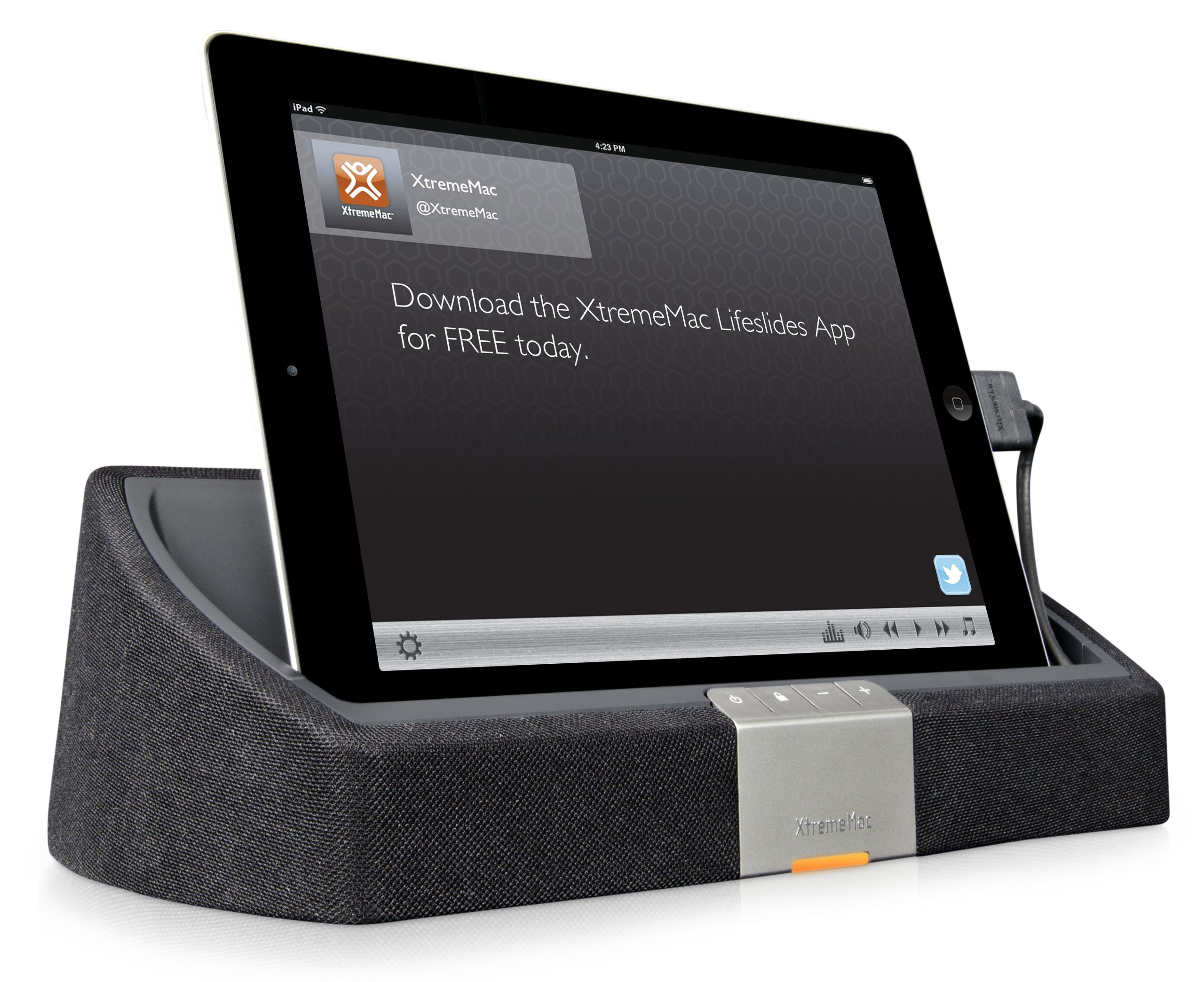 XtremeMac Tango TT Speaker System for iPad, iPhone, iPod and MP3 Player (Black) (Discontinued by Manufacturer)