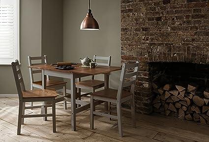 Cucina In Pino Naturale : Annika noa & nani tavolo da pranzo pieghevole con sedie da cucina