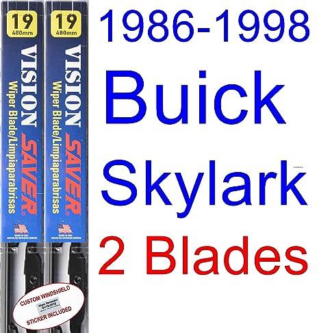 1986-1998 Buick Skylark Replacement Wiper Blade Set/Kit (Set of 2 Blades