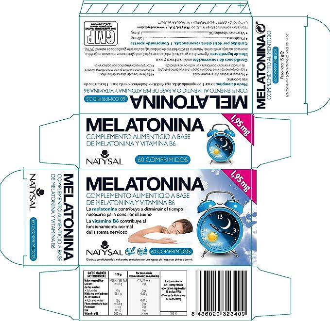 Natysal Complemento Alimenticio - 60 Comprimidos: Amazon.es: Salud y cuidado personal