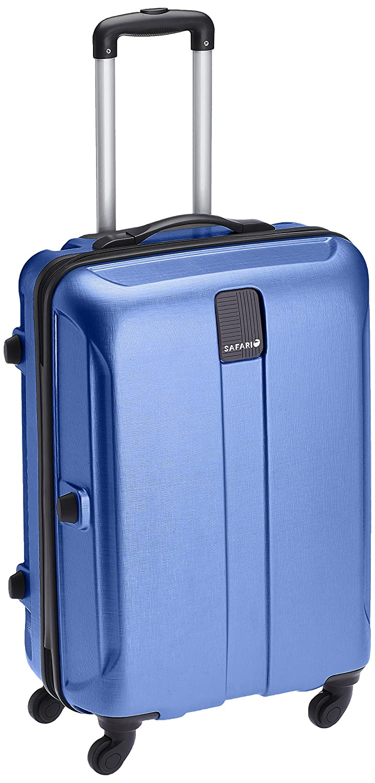 Safari Thorium Stubble 77 Cms Polycarbonate Blue Check-In 4