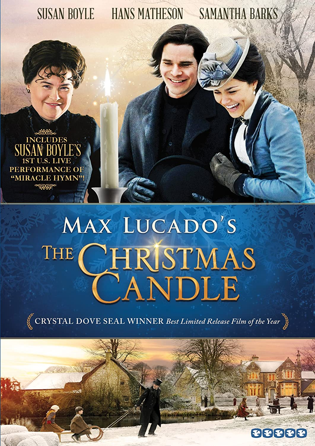The Christmas Candle - DVD Image