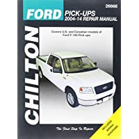 Chilton Ford Pick-Ups 2004-14 Repair Manual: Covers U.S. and Canadian models of Ford F-150 Pick-ups 2004 through 2014: Does no include F-250, Super ... to F-150 Heritage, Lightning or Raptor models