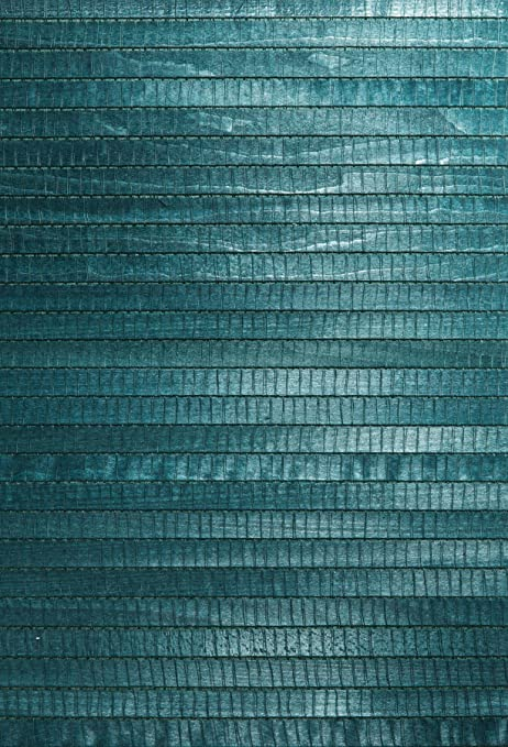 Kenneth James 63 54732 Mayumi Grass Cloth Wallpaper Aqua