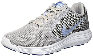 Nike Damen Revolution 3 Laufschuhe, Grau, 40.5 EU