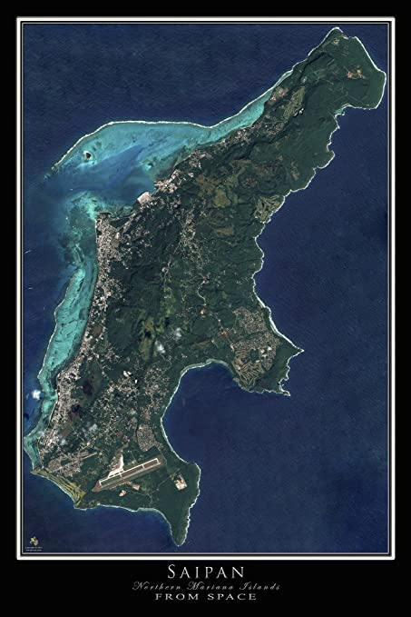 Amazon.com: Terra Prints Saipan - Northern Mariana Islands ... on satellite maps of homes, google maps united states, mercator projection map united states, printable outline maps united states, satellite maps of america, 3d model of united states, antique map united states, current snow cover map united states, satellite over united states, digital elevation map united states, satellite view of an addresses, satellite imagery united states, campground maps of united states, stream in the united states, space view of united states, night view of united states, humidity of united states, weather of united states, physical map western united states, satellite view of united states,
