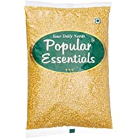 Popular Essentials Regular Moong Dal Split, 1kg