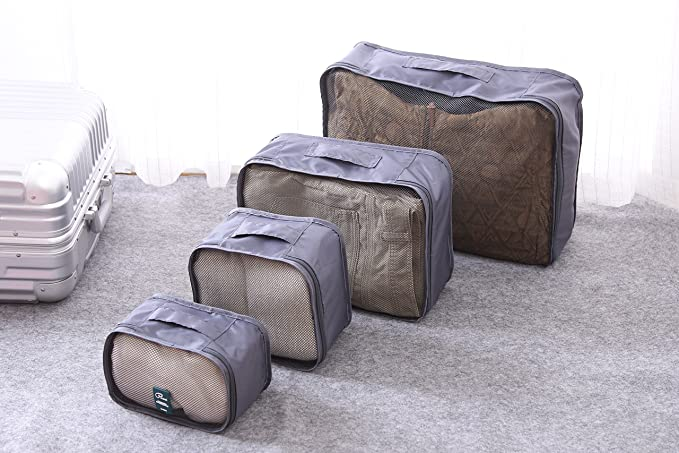 a8205734f655 6 in 1 luggage organizer, P. travel suitcase organizer, include 5 cubes + 1  pouch