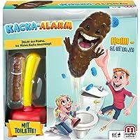 Mattel Games FWW30 Kacka-Alarm, Kinderspiel geeignet für 2 - 4 Spieler, Spieldauer ca. 15 Minuten, ab 5 Jahren